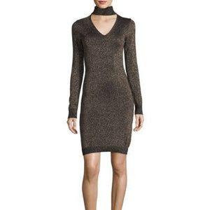 Michael Kors Dresses - Michael Kors Glitter Choker Dress